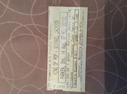 Optreden Michael Jackson Te Kopenhagen - Tickets De Concerts