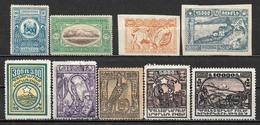 1920-1922 ARMENIA Set Of 9 MNH/MLH STAMPS (Michel # Id,If,IIg,IIo,IVb,IVd,IVf,IVi,IVk) CV €7.00 - Armenia