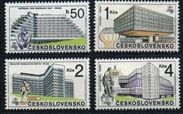 1988 Czechoslovakia MNH - Mi 2966-2969 ** MNH - Ungebraucht
