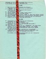 Brief Lettre - Programma Groots Nachtfeest Op De Kouter Gent - 1950 - Oude Documenten