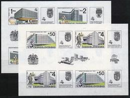 1988 Czechoslovakia MNH - Mi 2966-2969 B Block 85-86 ** MNH - Ungebraucht