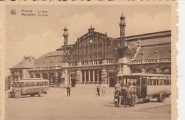19 / 12 / 207  -  MALINES  ( ANVERS ).  LA  GARE - Gares - Sans Trains