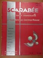 Scarabée 1933 N°1 Revue Littéraire Artistique Scientifique Mondaine (sommaire Dans Scan 2) - Sciences