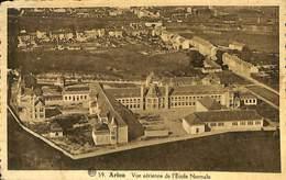 CPA - Belgique - Arlon - Vue Aérienne De L'Ecole Normale - Arlon