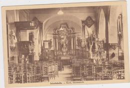 Wichelen - Deelgemeente Schellebelle - Binnenzicht Kerk 1938 - Wichelen