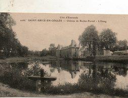 St - Brice  En  Coglès -  Château  De  Rocher -   L' étang - Autres Communes
