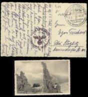 P1019 - DR Feldpost Postkarte Sudetenland : Gebraucht Luftwaffe Schwarzenberg Johannisbad - Berlin 1941, Bedarfserhalt - Germany