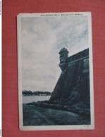 Old Spanish Wall Manila  Philippine  Ref 3767 - Philippines