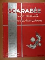 Scarabée 1933 Revue Littéraire Artistique Scientifique Mondaine (sommaire Dans Scan 2) - Sciences