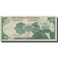 Billet, Venezuela, 20 Bolivares, 1987-07-07, KM:64a, B+ - Venezuela