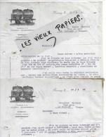 88 - Vosges - BUSSANG - Facture DECAMPS - Négociant En Vins - 1923 - REF 128B - 1900 – 1949