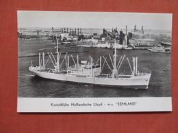 M.S. EEMLAND         Ref 3767 - Postcards