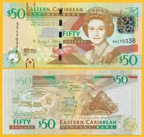 East Caribbean States 50 Dollars P-54b 2016 UNC Banknote - Oostelijke Caraïben