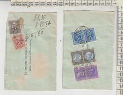 Verona Annullo XX Settembre 1940/1941 Marche Da Bollo Regno Su Ricevuta Poste E Telegrafi - 1900-44 Vittorio Emanuele III