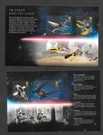 GB Space Craft   Panes Ex Prestige Stamp Book - Star Wars 3 - Unused Stamps