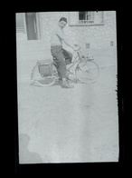 Negatif Photo Ancienne - Mobylette - Cycling