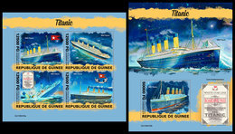 GUINEA 2019 - Titanic. M/S + S/S. Official Issue [GU190416] - Ships
