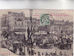 CPA - 72 - LE MANS - CIRCUIT De La SARTHE - La Place De La République à L'heure De L'apéritif Très Bel état 1906 - Le Mans
