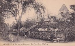 Juniville Vue Sur La Retourne La Passerelle De L'église - Other Municipalities