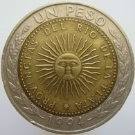 LaZooRo: Argentina 1 Peso 1994 XF - Argentine