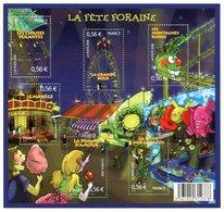 RC 12063 FRANCE BF N° F4378 LA FÊTE FORAINE BLOC FEUILLET NEUF ** A LA FACIALE - Sheetlets
