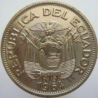 LaZooRo: Ecuador 1 Sucre 1964 UNC - Ecuador