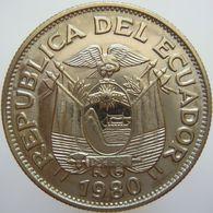 LaZooRo: Ecuador 1 Sucre 1980 UNC - Ecuador
