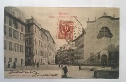 Cart 3 - Genova - Chiesa E Piazza Di Sarzano - Genova (Genoa)