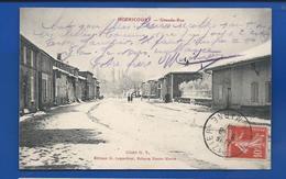 HOERICOURT     Grande Rue         écrite En 1908 - Francia