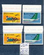 KATANGA COB 75/78 MNH - Katanga