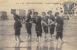 CPA 62 BOULOGNE SUR MER GROUPE DE BAIGNEUSES - Boulogne Sur Mer
