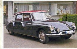 Citroen DS 19    (1970)  -  CPM - Voitures De Tourisme