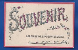 SOUVENIR DE COLOMBEY-LES-DEUX-EGLISES        écrite En 1908 - Colombey Les Deux Eglises