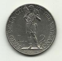 1939 - Vaticano 2 Lire - Vatikan