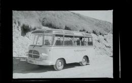Negatif Photo Ancienne - Bus - Automobiles
