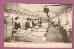 Cp Anould - Papeteries Du Souche - Vue D'une Partie De La Salle De Triage Visitage Du Papier - édit Weick N°15050 - Anould