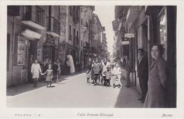 Cpa-esp-tolosa-No En Delc.-animada-calle Antonio Elosegui-edi ... N°6 - Spagna