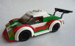 FIGURINE VOITURE LEGO Légo City Course-Rallye Octane Voiture édition Limité 60053 - Figurines