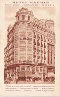 Cpa -esp-valencia-No En Delc.-hotel Madrid-plaza  Castelar-edi ... N°.. - Valencia