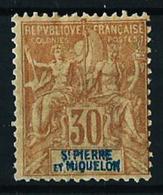 St.Pedro Y Miquelón Nº 67 Nuevo* Cat.17€ - Unused Stamps