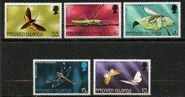 Pitcairn, Yvert YT 149/153**, Scott 151/155**, MNH - Timbres
