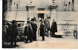 Saône Et Loire SEMUR EN BRIONNAIS Le 19 Janvier 1907 Expulsion Du Petit Séminaire  1 - Autres Communes