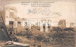 Ruines De La Gendarmerie - Diksmuide - Diksmuide