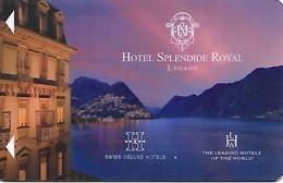 Switzerland: Hotel Splendide Royal, Lugano - Hotelkarten