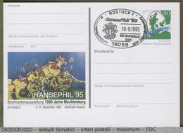 GERMANIA - DEUTSCHE - Postkarte - MACKLENBURG ROSTOCK MASK -  Testa Di Uro Del Meclemburgo -  FARO LIGHTHOUSE PHARE - Costumi