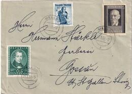 AUTRICHE 1951 LETTRE DE MELLAU POUR GOSSAU - 1945-.... 2nd Republic