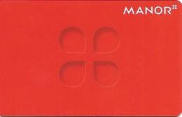 Schweiz: Manor - Gift Cards