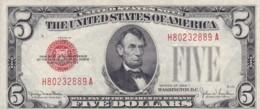 ETATS UNIS, 5 Dollars Série 1928F - Biglietti Degli Stati Uniti (1928-1953)