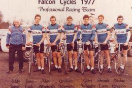 S3479 Photo Cyclisme Team Falcon Cycles 1977 - Cycling