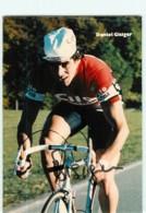 Daniel GISIGER , Autographe Manuscrit, Dédicace . 2 Scans. Cilo Aufina - Ciclismo